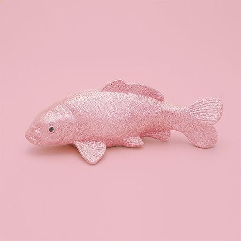 Deko-Koi / Glitzer / Pastellrosa