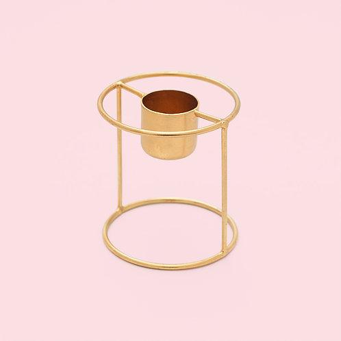 Kerzenhalter / Gold