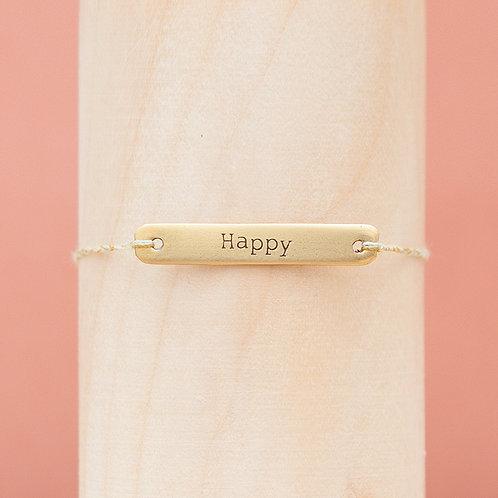 """Armband / """"Happy"""" / Halewa"""