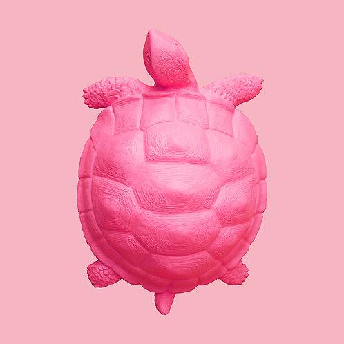 Deko-Schildkröte / Pink