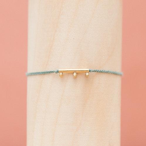 Armband / Bauble Ingot / Moss Green