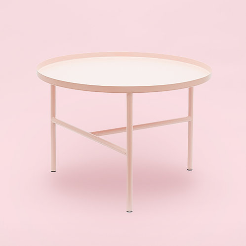 Coffee Table / Metall / Blush