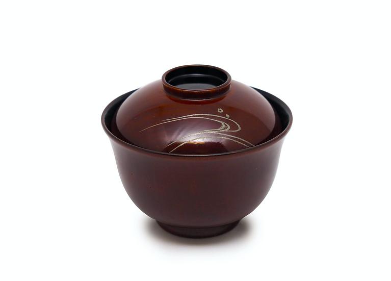 欅木地呂 汁粉椀