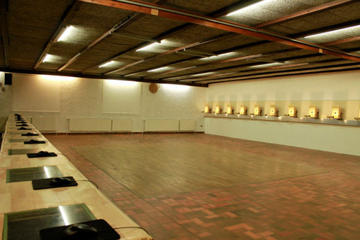 10m-Schießanlage für Luftdruckwaffen