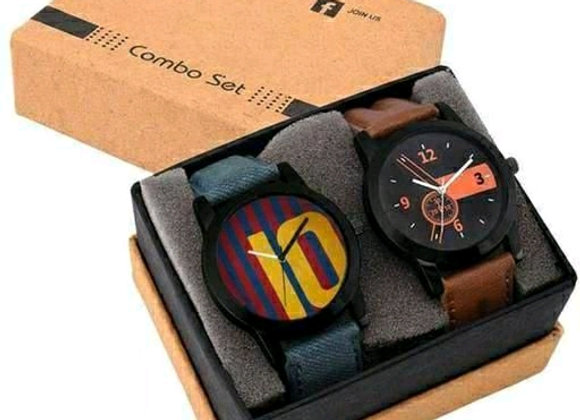 Trendy Attractive Men's Leather watches