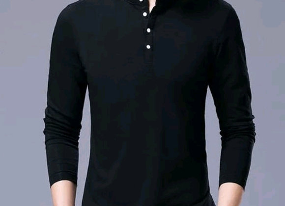 Stylish Casual cotton solid t-shirt