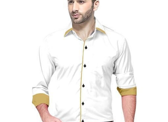 Trendy Stylish Fancy Cotton Men's Shirt