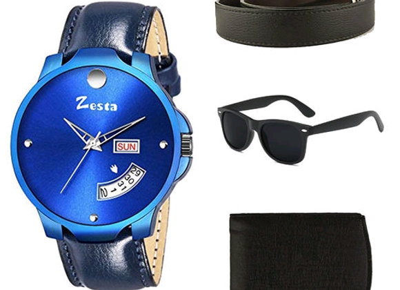 Stylish Men's Comfy Designer Watches Combo