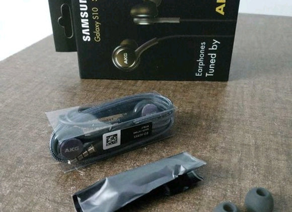 AKG Hands-Free with Fabric Cable Compatible for All Mobile's & Other Android/iOS
