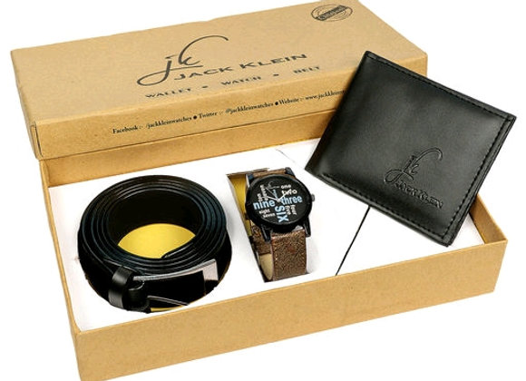 Men's Watches and belt combo