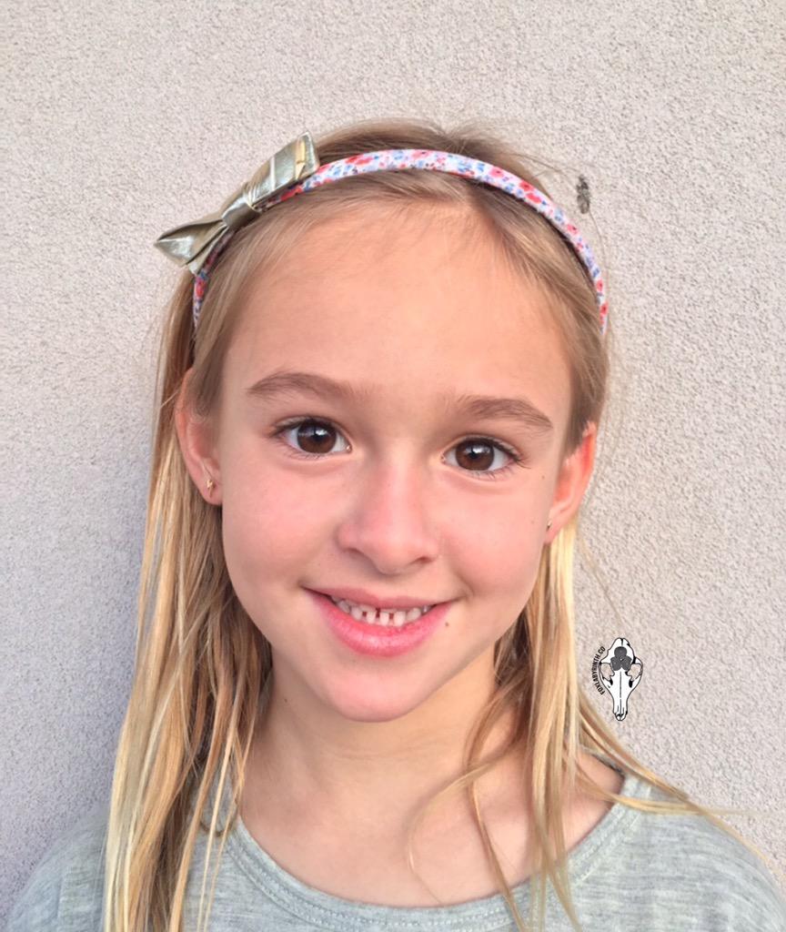 Mila Ear Pierced