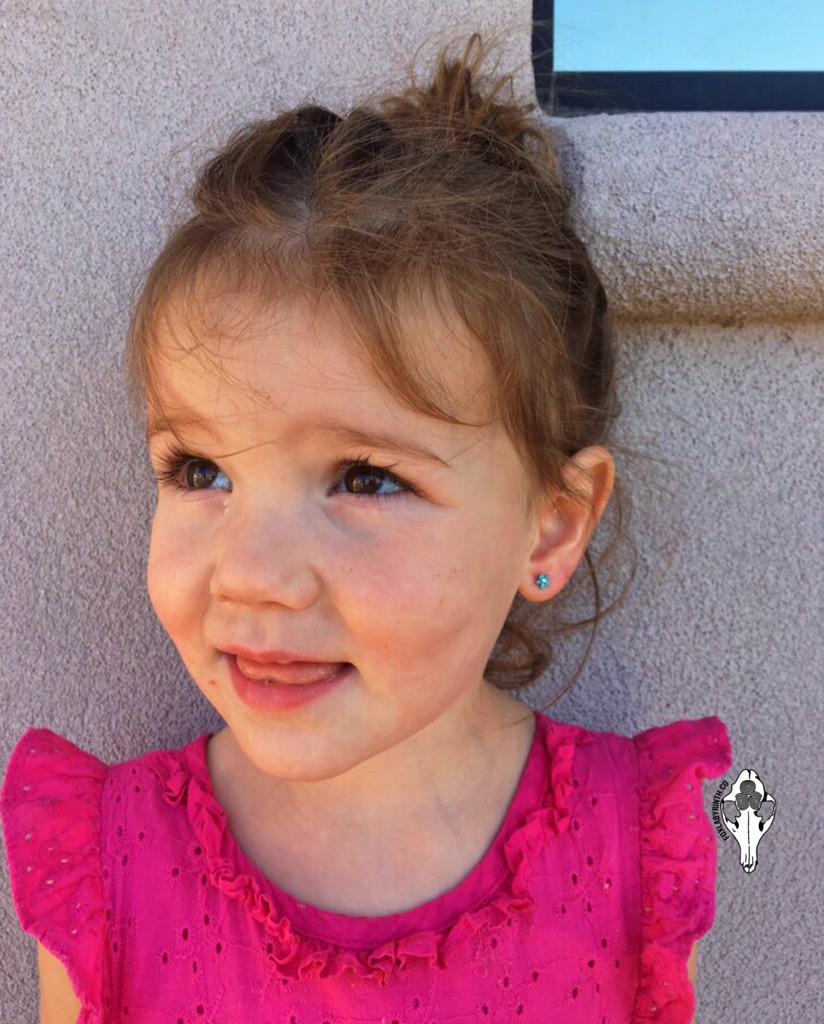 Bravest little girl