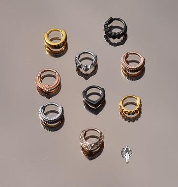 Streche ears jewelry, diablo organics
