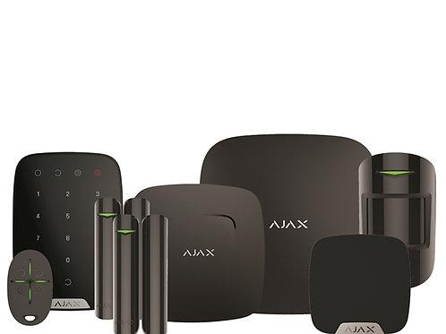 Ajax Hubkit Fire zwart/wit