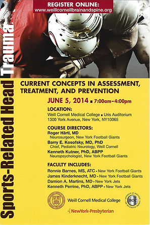 Sports-Related Head Trauma - Current Concepts in Assessment, Treatment, and Prevention