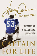 Harry Carson's book Captain for Life