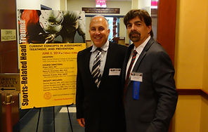 Dr. Kutner at the 2014 Weill Cornell Medicine Conference on Sports-Related Head Trauma