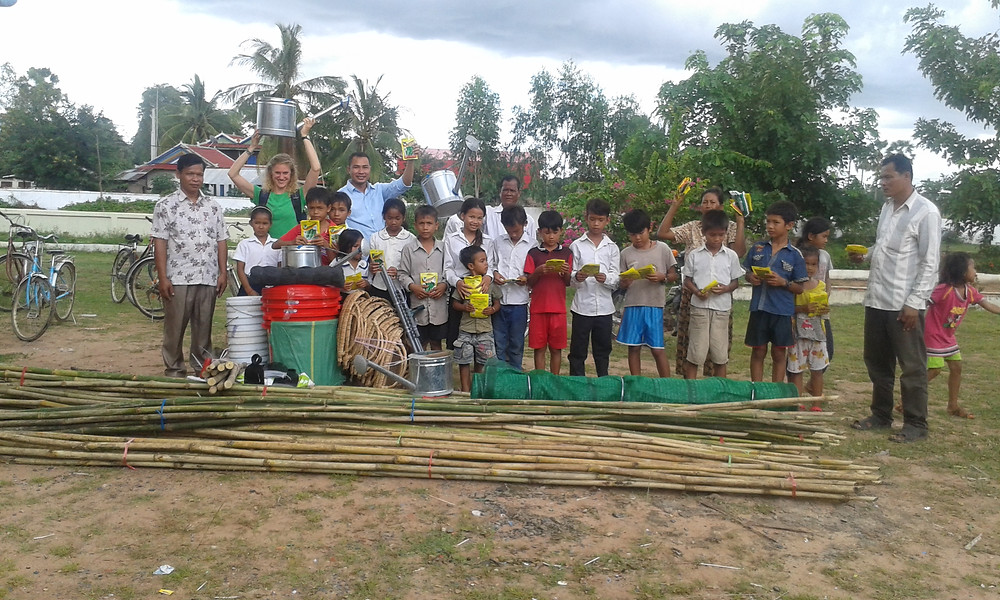 Fides Kambodscha Übergabe