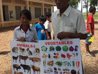 Dankeschön aus Kambodscha