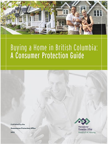 Buying a Home in British Columbia: A Consumer Protection Guide