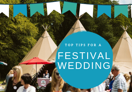 Top tips for a Festival Wedding