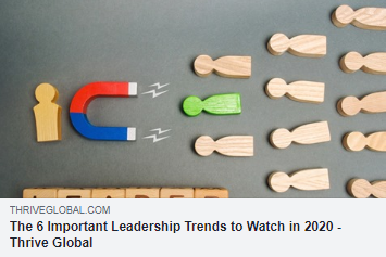6 LEADERSHIP TRENDS | 2020