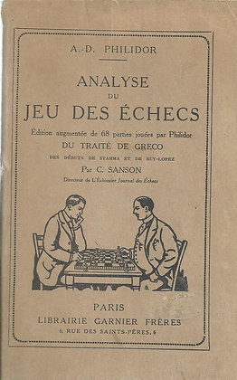 Analyse du jeu des échecs