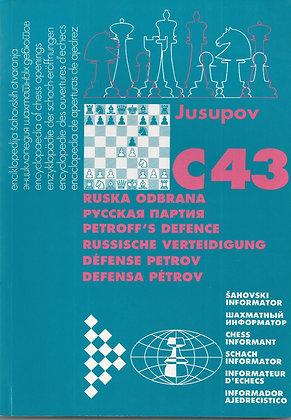 Encyclopédie des ouvertures : C43 Défense Petrov