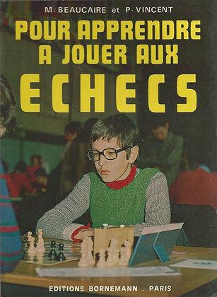 Pour apprendre à jouer aux échecs