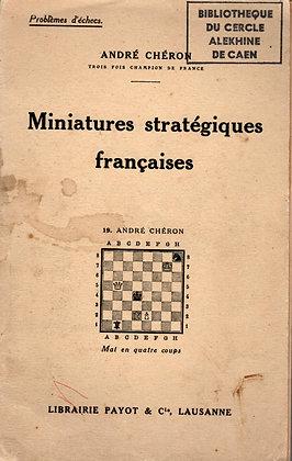 Miniatures stratégiques françaises