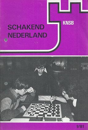 Schakend Nederland - les 11 magazines de l'année 1981