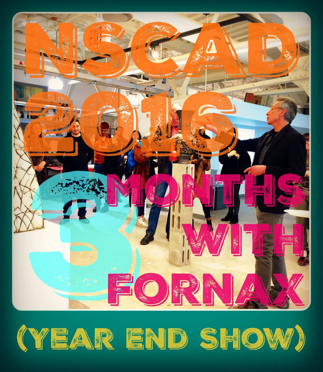 3 Months with Fornax NSCAD Ceramics Department Year End Show April 12-16