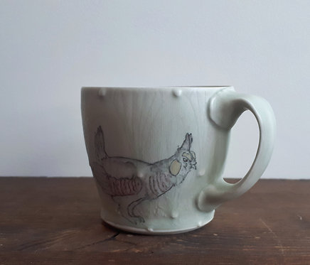 katy drijber prairie chicken americano mug