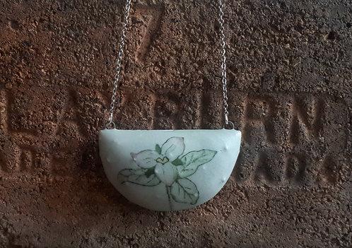 katy drijber western trillium necklace
