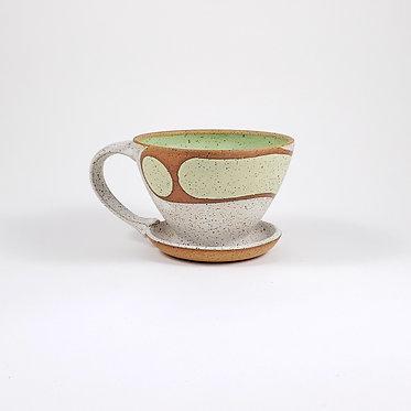 Toni Losey Retro Deco Coffee Pour Over