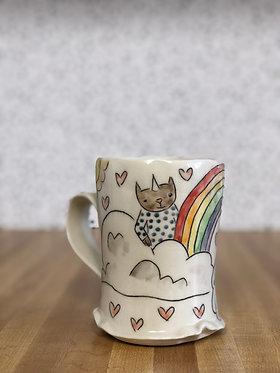 Carole Epp - Rainbow Cat Mug