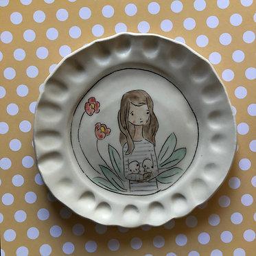 Carole Epp - Her heart plate