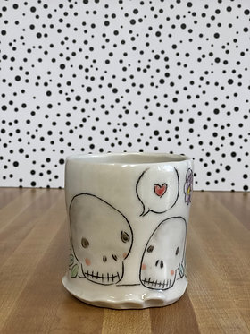 Carole Epp - Skull Mug