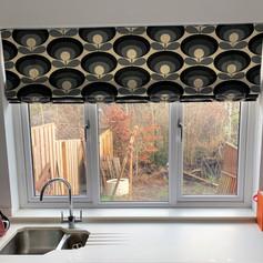 Kitchen roman blind