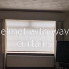 curtains/Pelmet