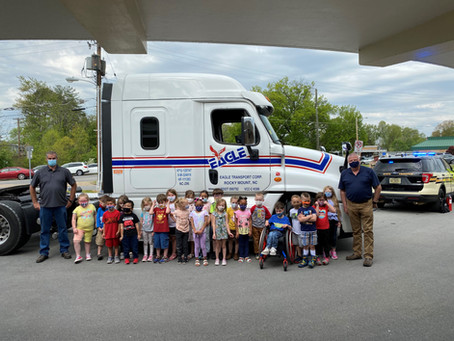 Kids and Trucks!