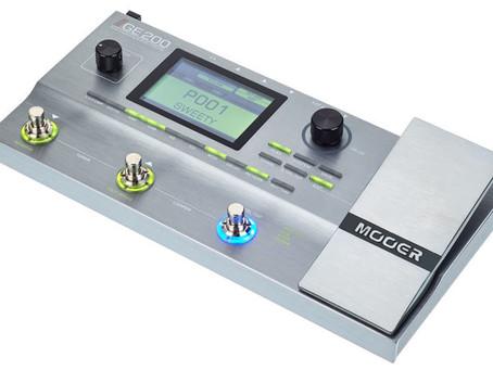 Mooer GE200 compact amp modeller