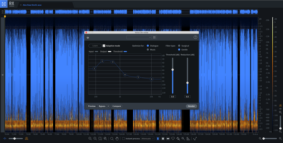 Editing Audio with Izotope RX
