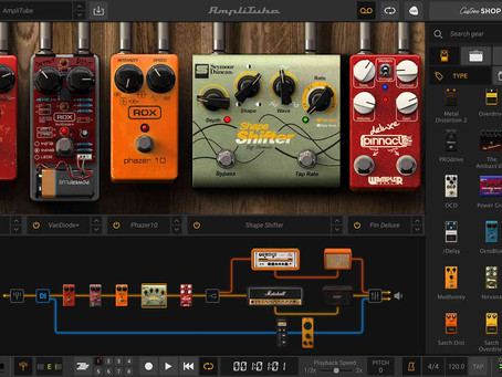 Best guitar effects apps for iPad and iPhone