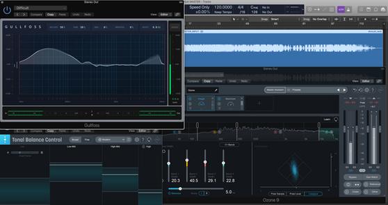 Mastering Audio on a DAW