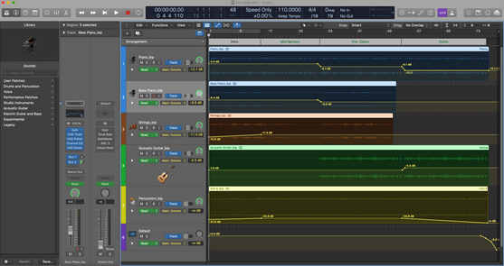 Audio Engineering on a DAW