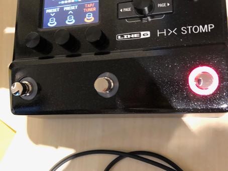 Line 6 HX Stomp compact amp modeller