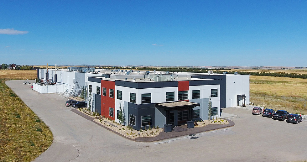 Sunterra Farms Headquarters in Acme, Alberta