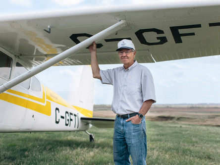 Dave Price induction into the Alberta Agriculture Hall of Fame