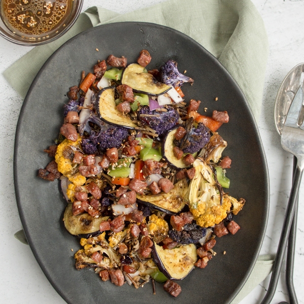 Prosciutto & Wild Rice Salad